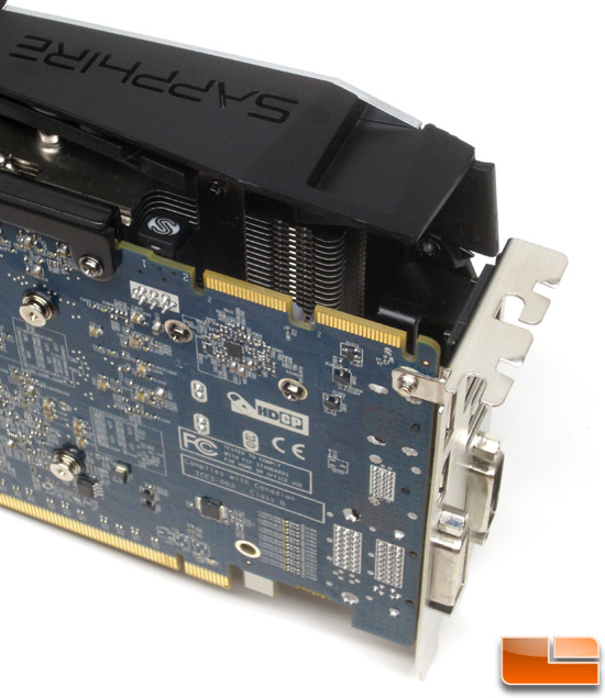 Sapphire HD7970 Vapor-X Video Card Back