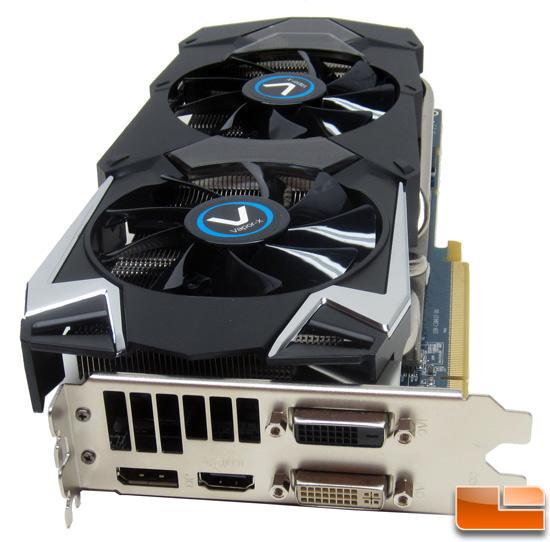 Sapphire HD7950 Vapor-X Video Card Connectors