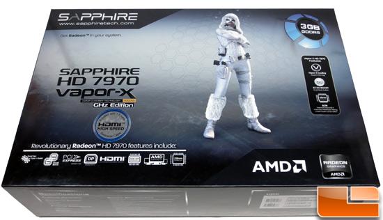 Sapphire HD7970 Vapor-X Card Retail Box