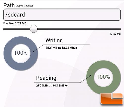 SD Card Tester App