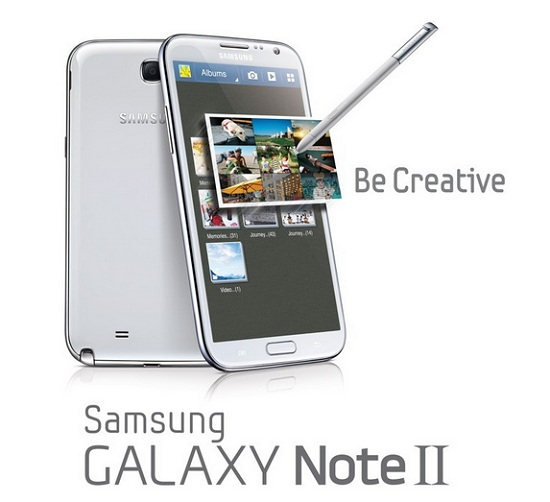 AT&T Samsung Galaxy Note II Smartphone