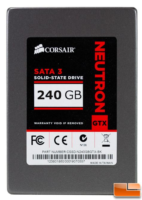 Corsair Neutron GTX 240GB SSD Review