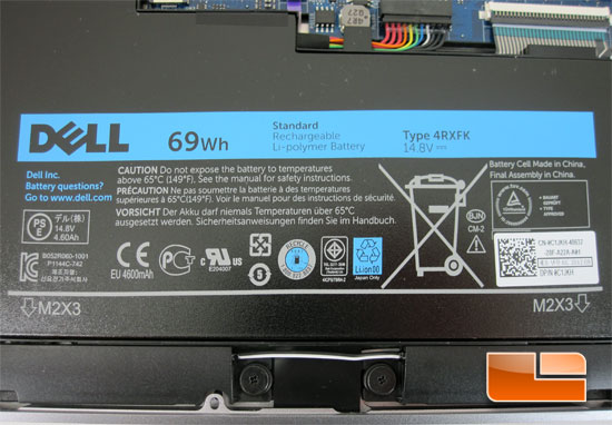 Inside the Dell XPS14 Ultrabook