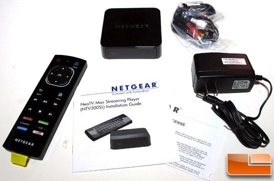 Netgear NeoTV MAX Contents