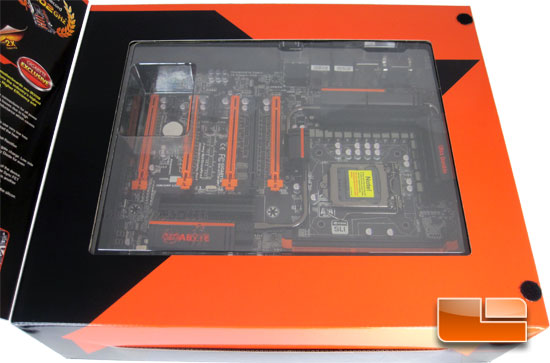 GIGABYTE Z77X-UP7 Intel Z77 Motherboard Retail Packaging