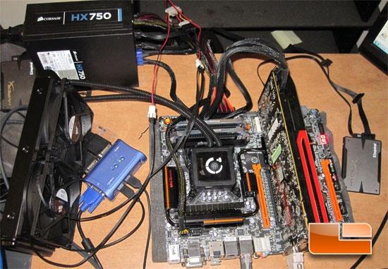 GIGABYTE Z77X-UP7 Test System