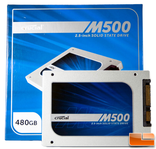 Crucial M500 480GB Solid-State Drive Review