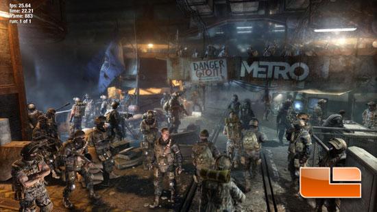 Metro Last Light Benchmark