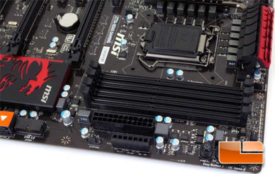 MSI Z77A-GD65 Gaming Series Motherboard Layout