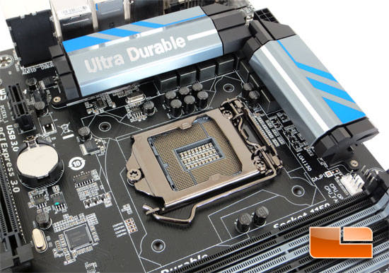 GIGABYTE Z87X-UD3H Intel Z87 Motherboard Layout