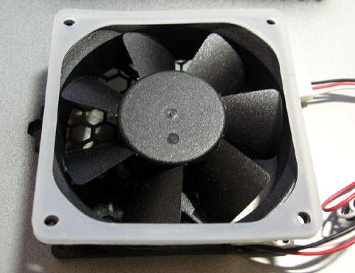 dustproof fan with gasket