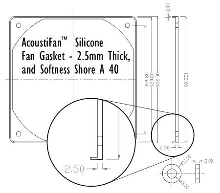 gasket technical drawing