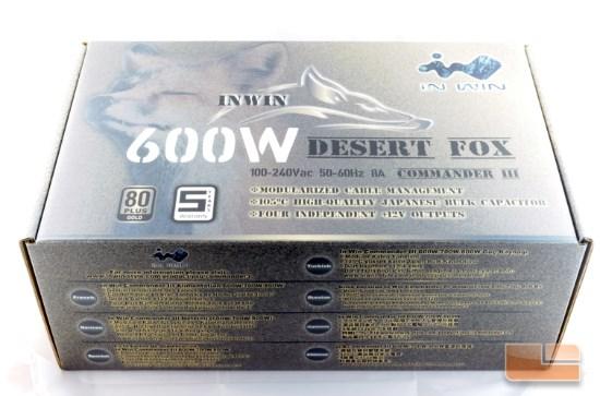 InWin Commander III 600W box