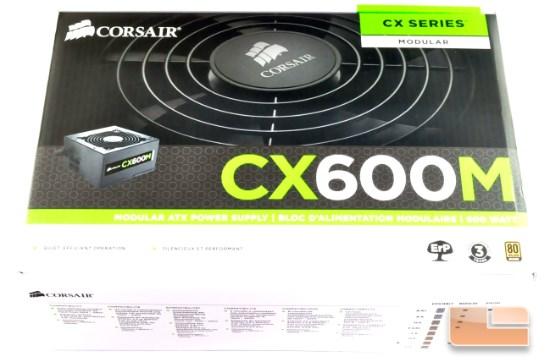 Corsair CX600M box