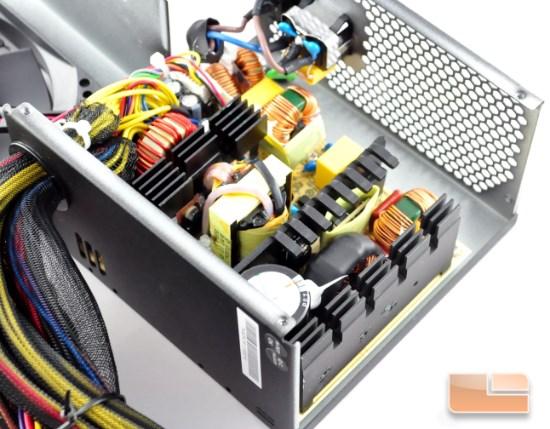 Thermaltake TR2 600W inside