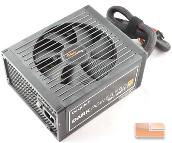 Dark Power Pro 10 550W top view