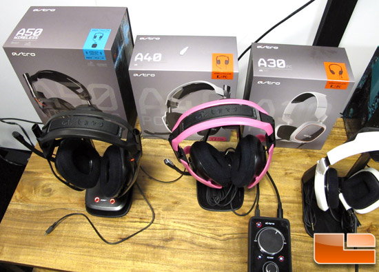Astro Gaming Headsets @ E3 2013