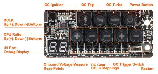 GIGABYTE Z87X-OC Force OC Touch
