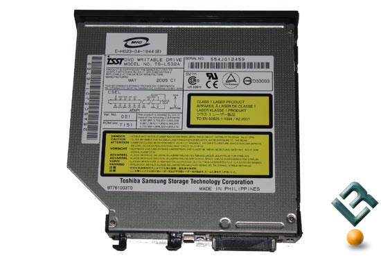 ASUS Z71V Optical Drive DVD/RW