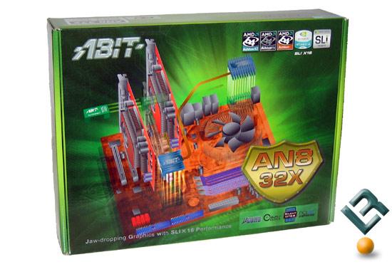 ABIT AN8 32X SLI Motherboard Review