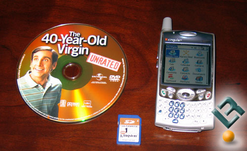 Playing DVD Movies On Your Treo 650 Smartphone