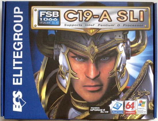 ECS C-19A SLI Motherboard Review