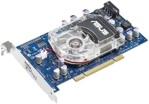 ASUS's AGEIA PhysX P1 Card