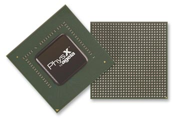 The AGEIA PhysX Chip