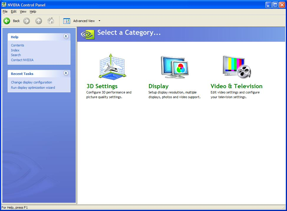 FORCEWARE RELEASE 90 DRIVER WINDOWS XP