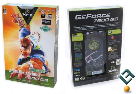 XFX GeForce 7900 GS 480M Extreme Video Card Retail Box