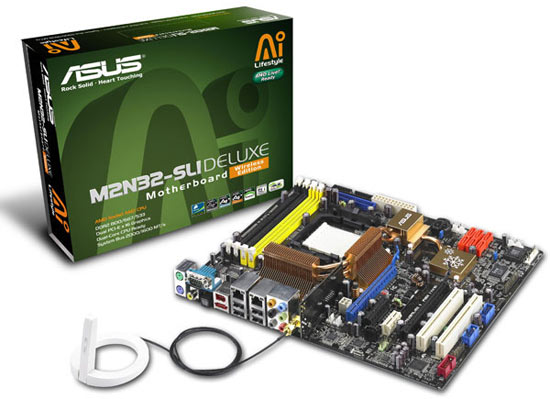 The Asus M2N32-SLI Deluxe Motherboard Review