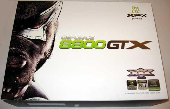 XFX 8800 GTX XXX Edition Graphics Card Review