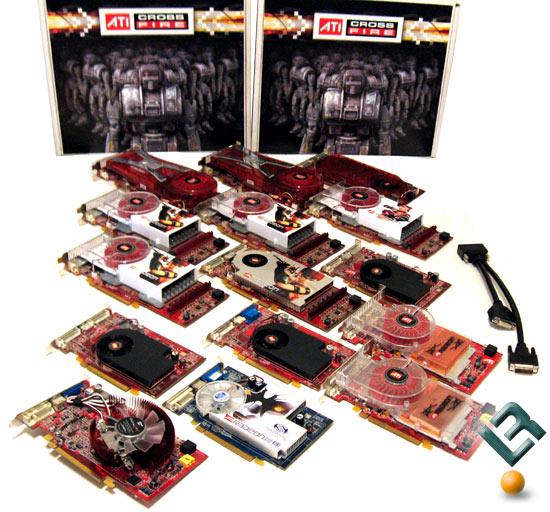 24 ATI Radeon PCI-E Video Cards Benchmarked