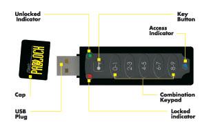 Corsair Flash Padlock USB Flash Drive Review - Legit Reviews Security In  The Palm Of Your HandLegit Reviews
