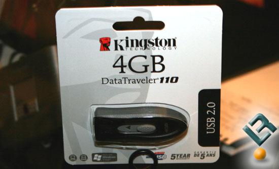CES 2008: Kingston Showcases Four New Flash Drives