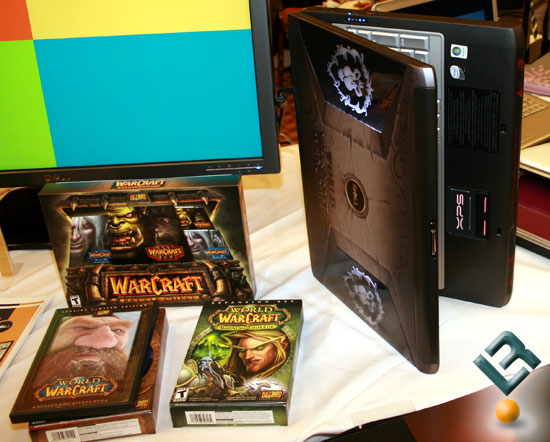 Xps m1730 world of warcraft edition notebook pc introduced by dell.