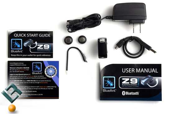 BlueAnt Z9i Box Contents