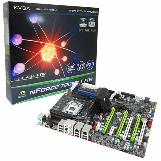 EVGA 790i SLI FTW Digital PWM Motherboard Review