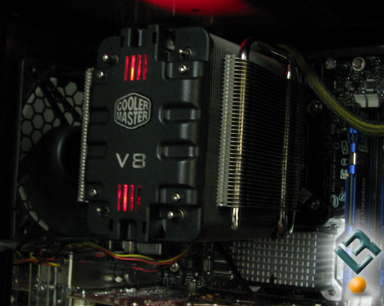 Car Cooling System >> Cooler Master V8 CPU Cooler Review - Legit ReviewsThe Cooler Master V8 CPU Cooler