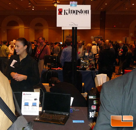 CES 2009: Kingston SSDs, HyperX Memory and Video SDHC Cards