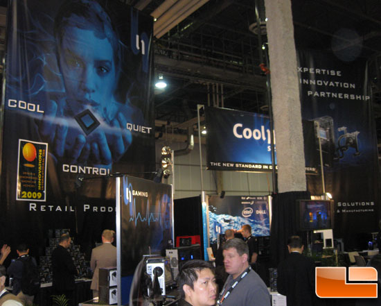 CoolIT Systems CES 2009 Booth