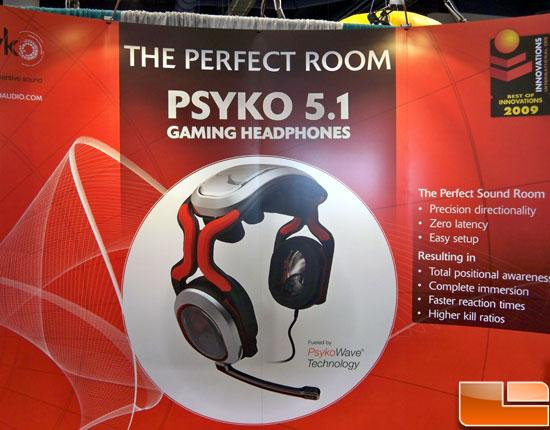 CES 2009: Psyko Audio Labs: 5.1 Gaming Headphones