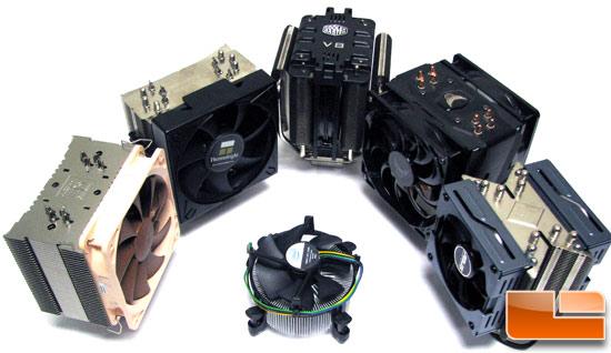 6 Way Intel Core I7 Cpu Cooler Roundup Page 8 Of 12 Legit Reviews Intel Stock Cooler