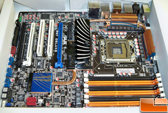 ASUS P6T Deluxe OC Palm Motherboard Review
