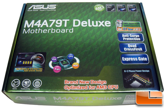 ASUS M4A79T Deluxe Motherboard Pictures – AMD Socket AM3