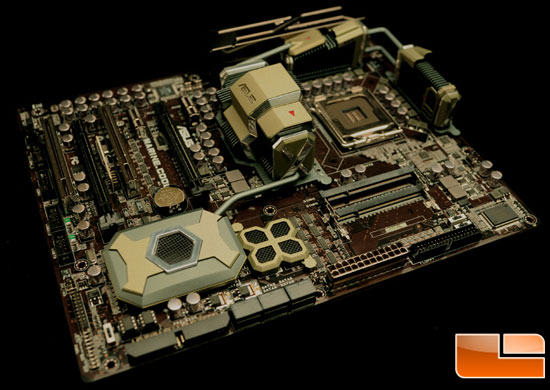 ASUS Marine Cool Concept Motherboard Pictures