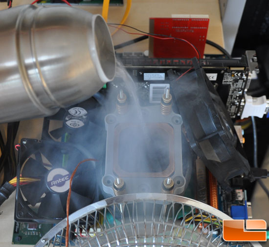 Liquid Dry Coolers : Liquid nitrogen and dry ice cpu cooling insulation guide
