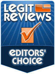 Legit Reviews Editor's Choice</p> <p> Award