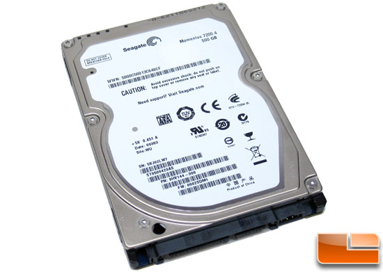 Seagate Momentus 72004 500GB Notebook Hard Drive