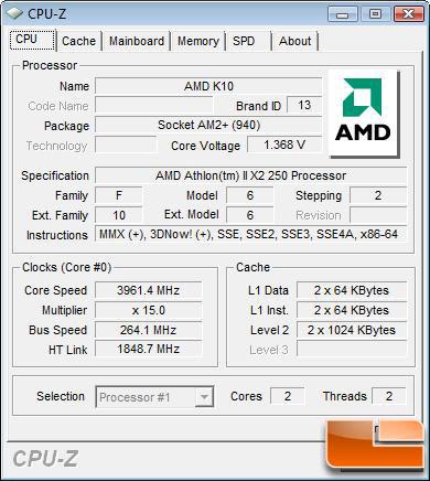 Amd Athlon Ii X2 250 And Phenom Ii X2 550 Processors Page 15 Of 16 Legit Reviewsoverclocking